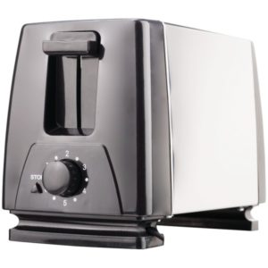 Toaster 2 Slices Stainless BRENTWOOD Electroménager