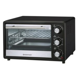 ELECTRIC MINI TOASTER OVEN 16L BLACK 110/60 WESTPOINT Electroménager