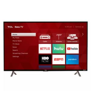 TCL – 32″ Class – LED – 3-Series – 1080p – Smart Télévision
