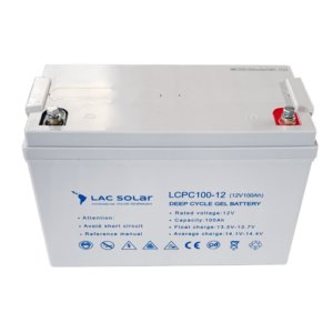DigitalKap LAC Solar 12v 100ah Gel Battery Batterie