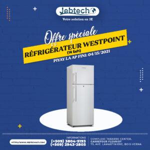 Offre Réfrigérateur Westpoint 14 cuff promotion