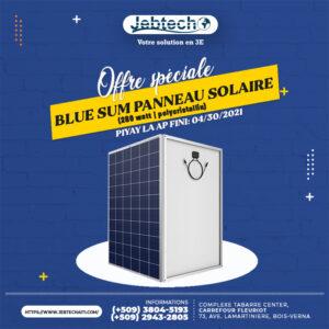 Offre blue sum panneau solaire 280 watt promotion