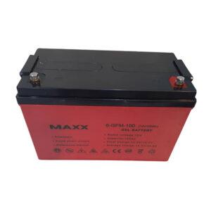 Battery gel maxx solar 12v 100 amps Batterie
